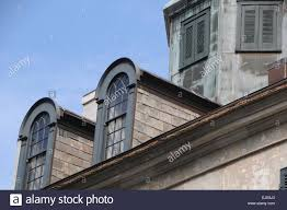Dormer Building Vintage Building In New Orleans Louisiana With Dormer Windows And