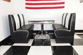 diner style booth table american diner furniture 50s style retro black booth table and black