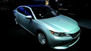 2013 lexus es300h interior 2013 lexus es350 exterior and interior debut at 2012 new york