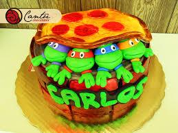 ninja turtles 90 u0027s cake by hom bones on deviantart