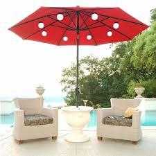 Patio Umbrella Lights Led Idea Patio Umbrellas Of Outdoor Umbrellas With Lights Patio