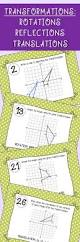 Reflections And Rotations Worksheet Best 25 Rotation Geometry Ideas Only On Pinterest Reflection