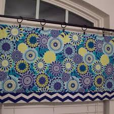 Lime Green Valances Custom Boutique Aqua Red Yellow Fish From Windowtoppings On Etsy