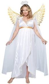 White Dress Halloween Costume Size Heavenly Angel Costume Size Halloween Costumes
