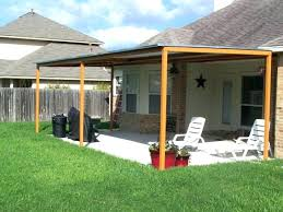 outdoor deck canopy free standing awning for deck medium size of