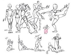 learning to draw human body