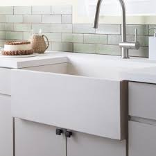 Kitchen Sink Furniture by Farmhouse 3018 Nativestone Apron Front Kitchen Sink Native Trails