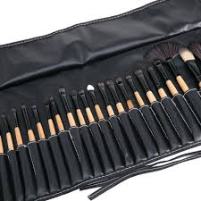 fashion 32pcs makeup brush set black buy online jumia nigeria