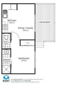 convert garage to apartment floor plans double garage conversion to granny flat floorplans google search