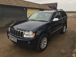 2007 jeep grand cherokee 3 0crd v6 auto overland fsh youngs gb