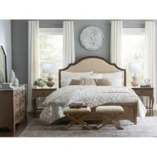 chapin furniture adelle upholstered panel california king bed