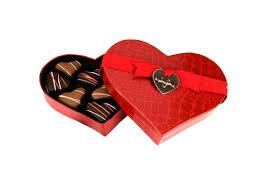 heart box of chocolates medium heart shaped caramel box v chocolates