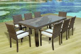 High End Outdoor Furniture by Affordable Outdoor Dining Tables 7 U0026 9 Piece Dining Sets