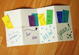 new year book for kids wishes for the new year accordion books make and takes