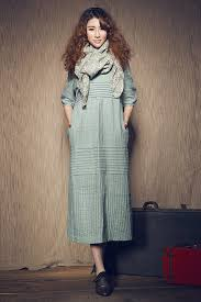 maxi linen dress in aqua long linen shirt dress linen