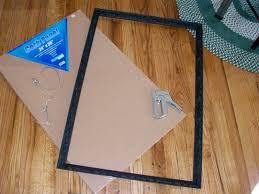 how to make a vintage frame cork board handmadeology