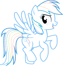 rainbow dash my little pony coloring pages fun u0026 learn free