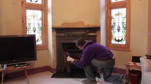 contura 51 l wood burning stove u0026 fireplace installation youtube