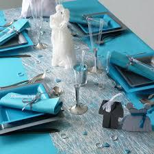 deco table marin achat vente chemin de table fibre intissée argent déco table pas cher