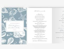 layered wedding programs invitations cool wedding program templates for modern wedding