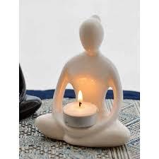 Yoga Home Decor 10575 White Yoga Goddess Candle Holder 900x900 Jpg