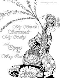 birth affirmation coloring page free printable birth