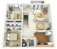 Two Bedroom Houses 50 Four U201c4 U201d Bedroom Apartment House Plans Formal Dining Rooms