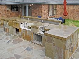 outdoor kitchen countertops ideas kitchen imposing concrete countertops outdoor kitchen with regard to
