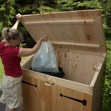 pinterest teki 25 den fazla en iyi trash can covers fikri