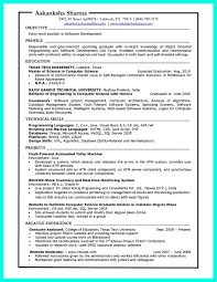 Resume Sample Graduate Assistant by The Best Computer Science Resume Sample Collection