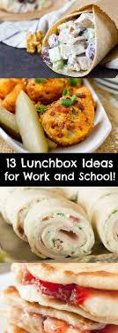 lunchbox ideas for work and school