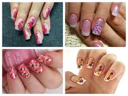 spring nail art designs ideas for season 2015