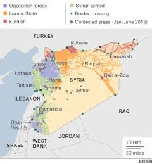 map of syria syria mapping the conflict news
