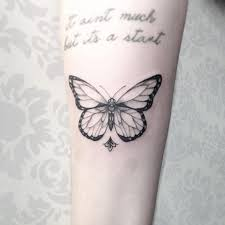 28 beautiful black and grey butterfly tattoos tattooblend