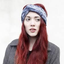 velvet headband velvet turban headband by crown and notonthehighstreet