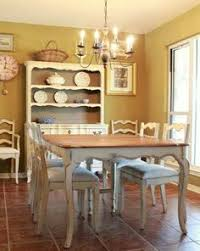 Using Your Dining Room Rustic Bench Dining Sets And DIY Ideas - French country dining room table