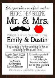 co ed bridal shower couples wedding shower invitations templatesfranklinfireco coed