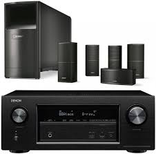 av receiver home theater denon avr x2300 av receiver black bose acoustimass 10 series v