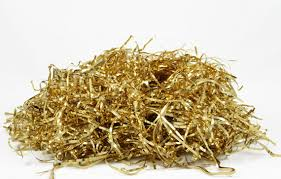 foil shreds gold foil shreds glossy gold metallic tinsel shreds 56g