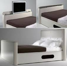 Bed Frame With Tv Built In Bed With Built In Tv Craziest Gadgets