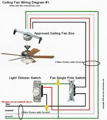 how to wire a ceiling fan to a wall switch install and wire a ceiling fan
