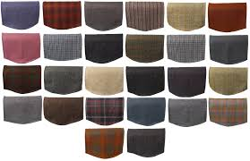 Armchair Arm Caps Scottish Tweed Single Chair Back 100 Pure New Wool Sofa Furniture