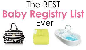 baby registery diary of a fit mommythe best baby registry list diary of a