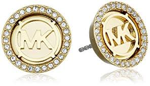 earrings gold michael kors gold tone stud earrings jewelry