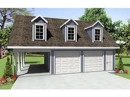 Workshop Garage Plans Garage Plans With Carport 2 Car Garage Plan With Carport 001g