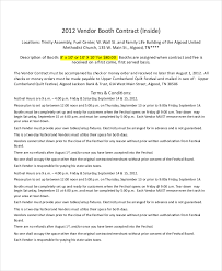booth rental church rental agreement template booth rental agreement 9 free