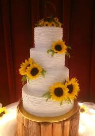 sunflower wedding sunflower wedding cake s cake gallery
