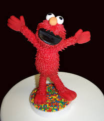 elmo cake topper cuquis design 2010 august
