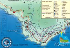 Map Of Amalfi Coast Praiano Italy Pictures Citiestips Com