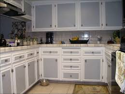kitchen cream colored kitchen cabinets grey kitchen tiles black